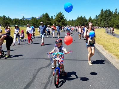 Black Butte 4th of July parade