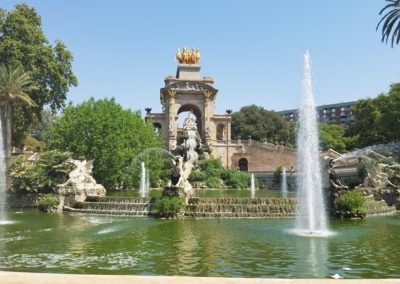 Cascada Monutmental at Parc de la Ciutadella3