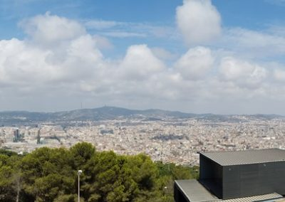 View of Barcelona from Monjuic
