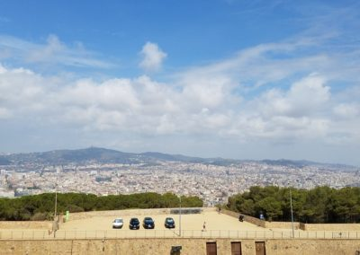 view from Montjuïc Castle